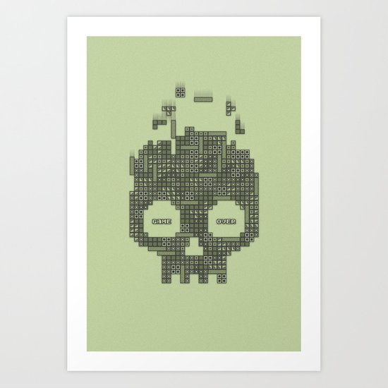 Dead Boy Art Print