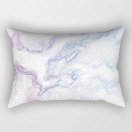 Yosemite National Park Half Dome Print Rectangular Pillow