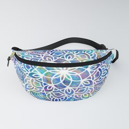Mandala Little Mermaid Ocean Blue Fanny Pack