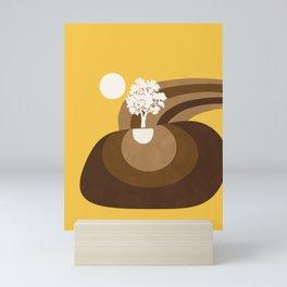 Modern shapes 7 Mini Art Print