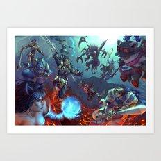 Summoner's Rift Art Print