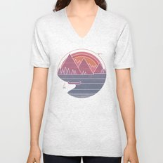 The Mountains are Calling Unisex V-Neck