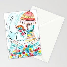 Explore Thai Elephant Travel Stationery Cards