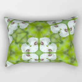 Silky Camellia Rectangular Pillow