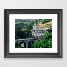 Lajas Sanctuary (Colombia) Framed Art Print