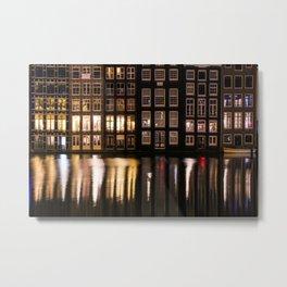 Amsterdam houses 2. Metal Print