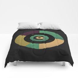 Circle Fibonacci.1 Comforters