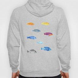 cichlids fish malawi lake Hoody