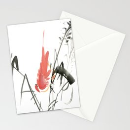 Bird 4- Chinese Shui-mo (水墨) Stationery Cards