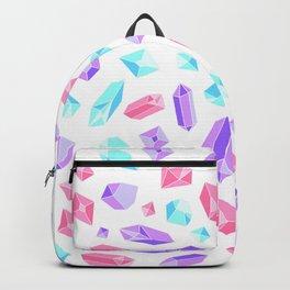 Pastel Crystal Pattern Backpack
