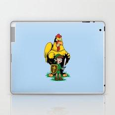 The Legend of Ernie (light background) Laptop & iPad Skin