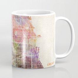Chicago map Coffee Mug
