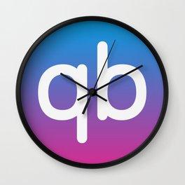 qiibee Icon Dark Wall Clock