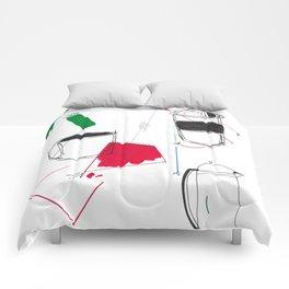 Geo Coffee Comforters
