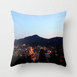 Eugene Oregon from Skinner Butte Throw Pillow