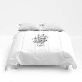 Castle on the Rock Comforters