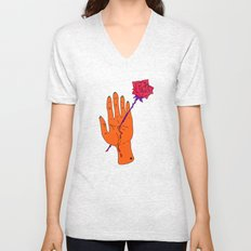 Wounded Hand // Space Unisex V-Neck