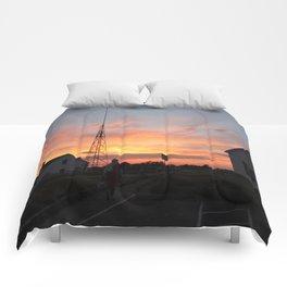 Coastguard Sunset Comforters