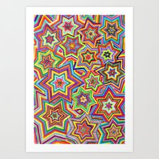 we are the star Art Print