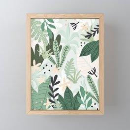 Into the jungle II Framed Mini Art Print