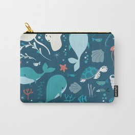 Sea creatures 004 Carry-All Pouch