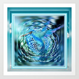 Singing in Circles Art Print