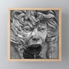 The Face of Fire Framed Mini Art Print