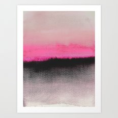 Double Horizon Art Print