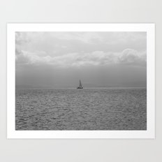 Amongst the Sea Art Print