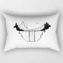 Campement dans les nuages Rectangular Pillow