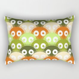 susuwatari pattern (color version) Rectangular Pillow