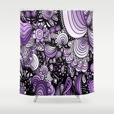 Purple Candy Shower Curtain