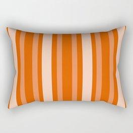 Persimmon Victorian Lady Stripe Rectangular Pillow