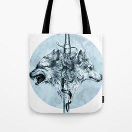 Dire Wolf Tote Bag