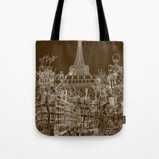 Paris! Tote Bag