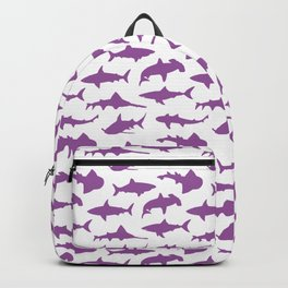 Violet Sharks Backpack