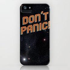 Don't Panic Slim Case iPhone (5, 5s)