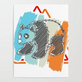Panda Bear Gift Great China Bamboo Bear Poster