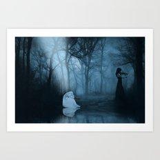 Fantasy - So Gone Art Print