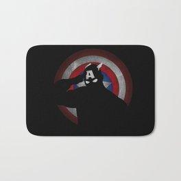 SuperHeroes Shadows : Captain America Bath Mat