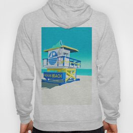 Miami Beach Hut Hoody