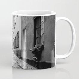 Narrow street in Gamla Stan, Stockholm Coffee Mug