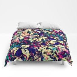 Watercolor Dragon Lilies  Comforters