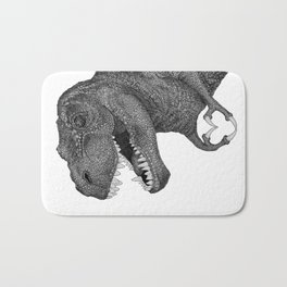 Dino Love Bath Mat