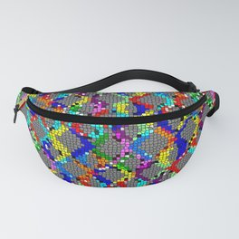 Chain Linked Stained Glass Fanny Pack