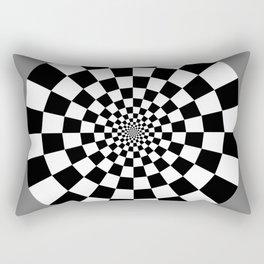 Checker Tunnel Rectangular Pillow