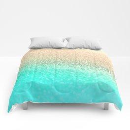 GOLD AQUA Comforters