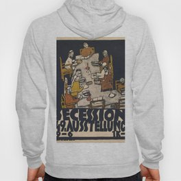 "Egon Schiele ""Secession 49. Exhibition"" Hoody"