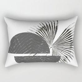 Contrast - Minimalism Mid-Century Modern Forms Rectangular Pillow