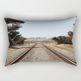 Tracks......... Rectangular Pillow
